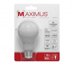 Ampoule LED bulb - E27 - 11 Watts - Maximus - DURACELL