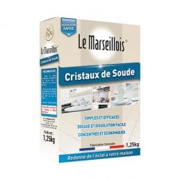 Lessive Cristaux de Soude - 1.25 Kg - LE MARSEILLOIS
