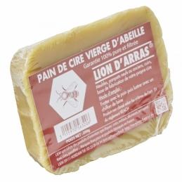 Pain de cire d'abeille vierge - Lion d'Arras - 200 Grs - LIEM