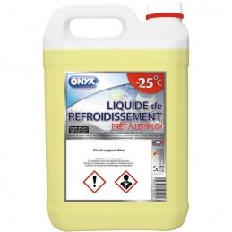Liquide de refroidissement - -25° C - Prêt à l'emploi - 5 L - ONYX