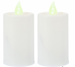 Lot de 2 bougies Votive LED - HOME SWEET LIGHT