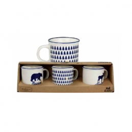 Coffret de 3 mini-mugs - Alaska - ARD'TIME