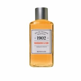 Eau de Cologne fraîche - Tradition 1902 - Mandarine & Cuir - 125 ml - BERDOUES