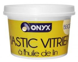Mastic vitrier à l'huile de lin - Beige - 1 Kg - ONYX