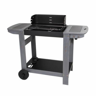 Barbecue en fonte - Charbon de bois - Meltem 345337 - SOMAGIC