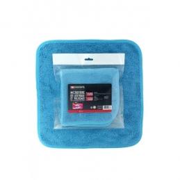 Chiffon en microfibre - Spécial lustrage - Bleu - 40 x 40 cm - FACOM