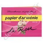 Papier d'Arménie Triple Carnet La Rose