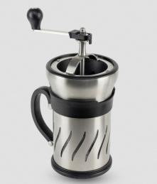 Moulin à café et cafetière à piston 2 en 1 - 15 cm - Paris Press - PEUGEOT