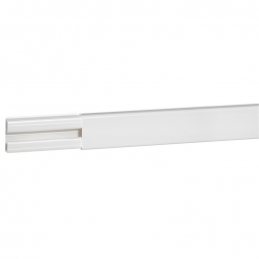 Moulure avec cloison - section 20 x 12,5 mm - Blanc - LEGRAND
