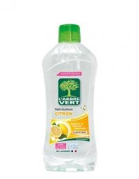 Nettoyant multi-surfaces hypoallergénique - Citron - 1 L - L'ARBRE VERT