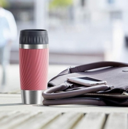 Mug isotherme - TRAVEL CUP Twist - 0.36 L - rose - EMSA