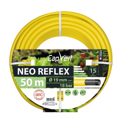 Tuyau d'arrosage Neo Reflex - 19 x 50 M - CAP VERT