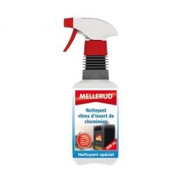 Nettoyant pour vitres d'insert de cheminée - 500 ml - MELLERUD
