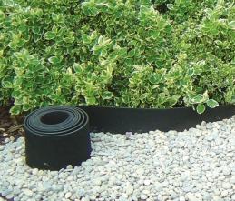 Bordure à gazon en caoutchouc recyclé souple - Selfix Bordura - 13 cm x 5 M - NORTENE