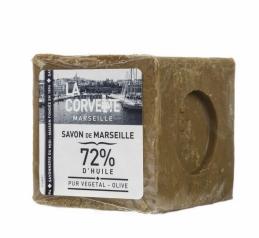 Cube de Savon de Marseille - Olive - 300 Grs - LA CORVETTE