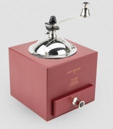 Moulin à poivre manuel en bois - Rouge piment - 13 cm - Roellinger - PEUGEOT