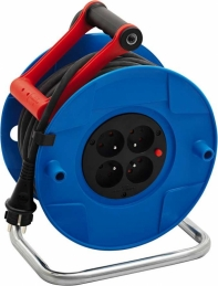 Enrouleur de câble Standard S - 25 M - H05VV-F 3G1,5 mm² - BRENNENSTUHL
