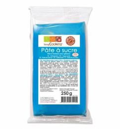 Pâte à sucre - Bleu - 250 Grs - SCRAPCOOKING