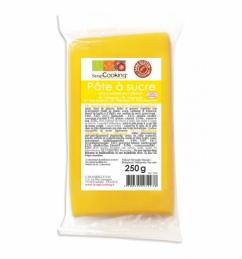 Pâte à sucre - Jaune - 250 Grs - SCRAPCOOKING