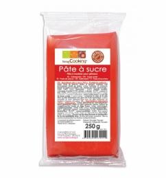 Pâte à sucre - Rouge - 250 Grs - SCRAPCOOKING