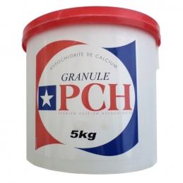 Chlore sans stabilisant - PCH granulé - 5 Kg - OCEDIS