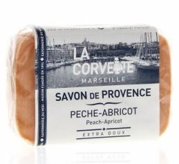 Savon de Provence - Pêche / Abricot - 100 Grs - LA CORVETTE