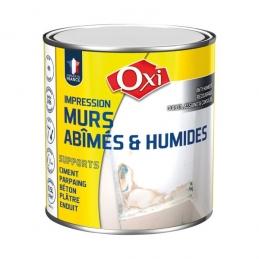 Peinture pour murs abîmés et humides - 2.5 L - OXI