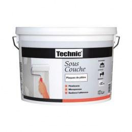 Peinture sous-couche - spécial plâtre - 5 L - TECHNIC