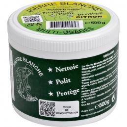 Pierre de nettoyage blanche - Citron - 500 Grs - MKT