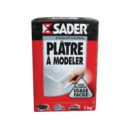 Plâtre à modeler - 1 Kg - SADER
