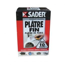 Plâtre fin en sac 1 Kg - SADER