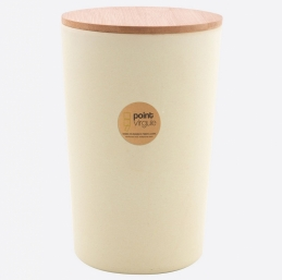 Boîte en fibre de Bambou - Biodégradable - Blanc cassé - 1.3 L - POINT VIRGULE