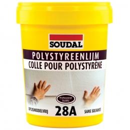 Colle polystyrène 28A - Sans solvant - Prête à l'emploi - 1 Kg - SOUDAL