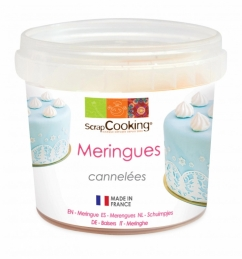 Pot de mini meringues cannelées - 40 Grs - SCRAPCOOKING