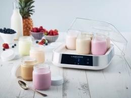 9 pots pour yaourtière - Grande capacité - Verre - LAGRANGE