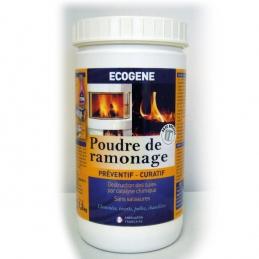 Poudre de ramonage - Préventif et curatif - 1 Kg - ECOGENE