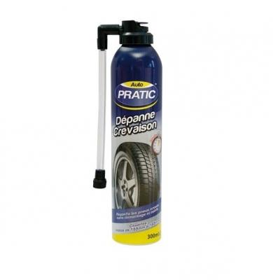 Auto Pratic - Dépanne crevaison - 300 ml