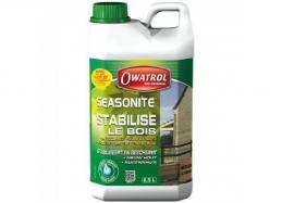 Stabilisateur incolore pour bois neufs humides - Seasonite - 2.5 L - OWATROL