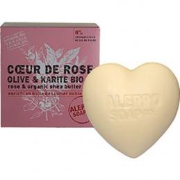 Coeur de Rose Olive & karité bio - 200 Grs - ALEPPO