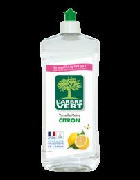 Liquide vaiselle main - Citron - 750 ml - L'ARBRE VERT