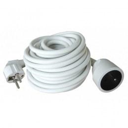 Rallonge Ho5Vvf 3 G 1.5 - Blanc - 10 M - ZENITECH