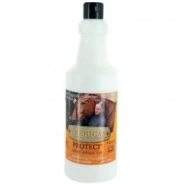 Spray répulsif Mouches et Taons pour chevaux - 1 L - Protect' American