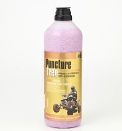 Mastic d'étanchéité pour pneu pour Quad - Anti-crevaison - 1250 ml - OKO