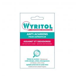 Anti-acariens pour aspirateurs - 3 sachets - WYRITOL