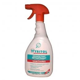 Désinfectant et détartrant pour sanitaires - 750 ml - WYRITOL