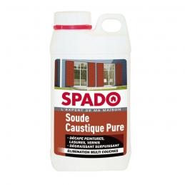 Soude caustique pure - Décapant surpuissant - 1 Kg - SPADO