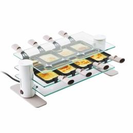 Appareil à raclette - 8 coupelles - Transparence - Plateau en verre - LAGRANGE