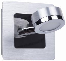 Spot de salle de bain - Acier et verre - Empoli - RANEX