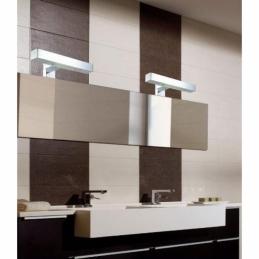Applique pour miroir de salle de bain - LED - Acier et chrome - Reggiana - RANEX