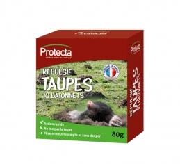 Répulsif taupes - 10 bâtonnets - PROTECTA